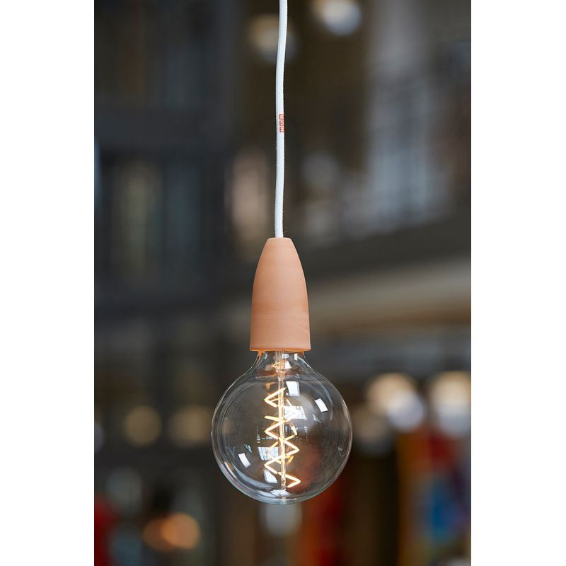 decorative led bulb spiral filament bulb by nud collection. Black Bedroom Furniture Sets. Home Design Ideas