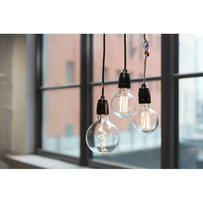 decorative led bulb spiral filament bulb by nud collection. Black Bedroom Furniture Sets. Home Design Ideas