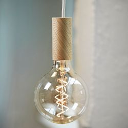 Grosse ampoule led filament Spirale