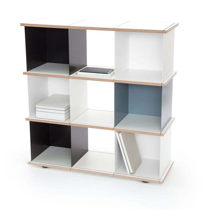 etag re design m tal et bois modulable yu par konstantin slawinski 9 cases. Black Bedroom Furniture Sets. Home Design Ideas