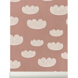 Papier peint Ferm Living Cloud