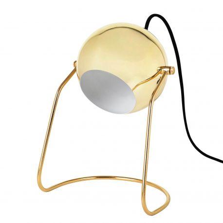 Lampe de table Turn doré par Broste Copenhagen