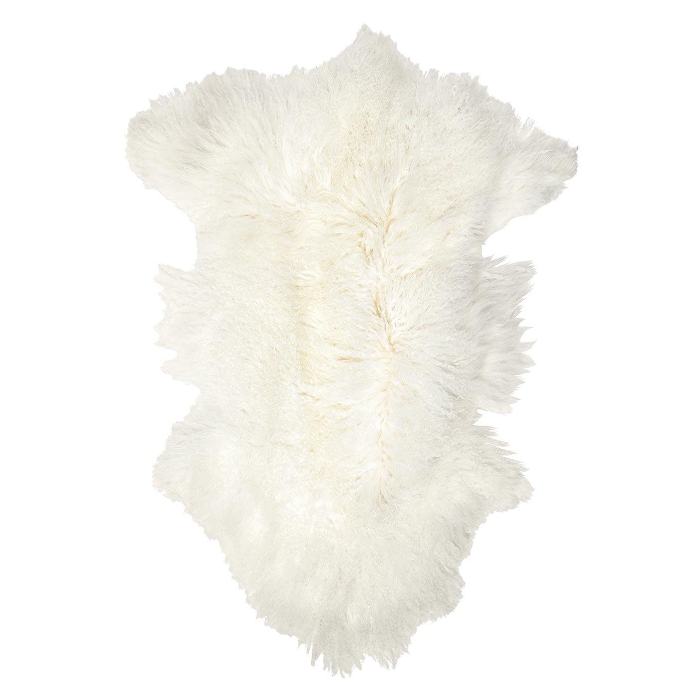 Tapis peau de mouton Broste Copenhagen Couleur - Blanc