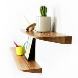 wooden Wall shelf made in France