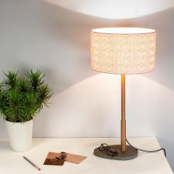 Helios table lamp by Reine Mère