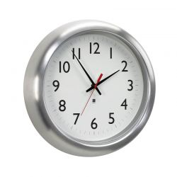 Design wall clock Station Umbra