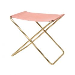 Nola canvas folding stool Broste Copenhagen