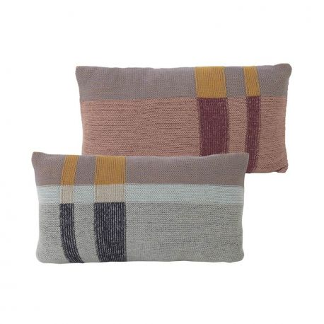 Coussin rectangulaire Medley menthe