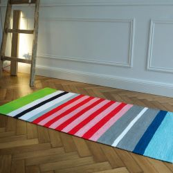 Tapis de couleur multicolore