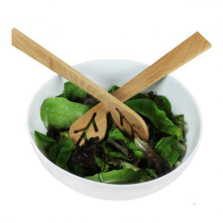 Couverts à salade design bois