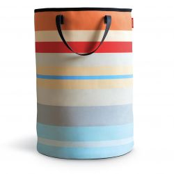 Colored laundry basket