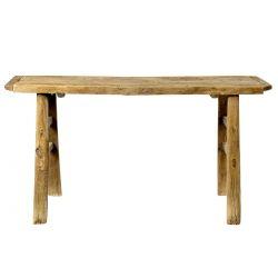 Table haute en bois ancien Bloomingville