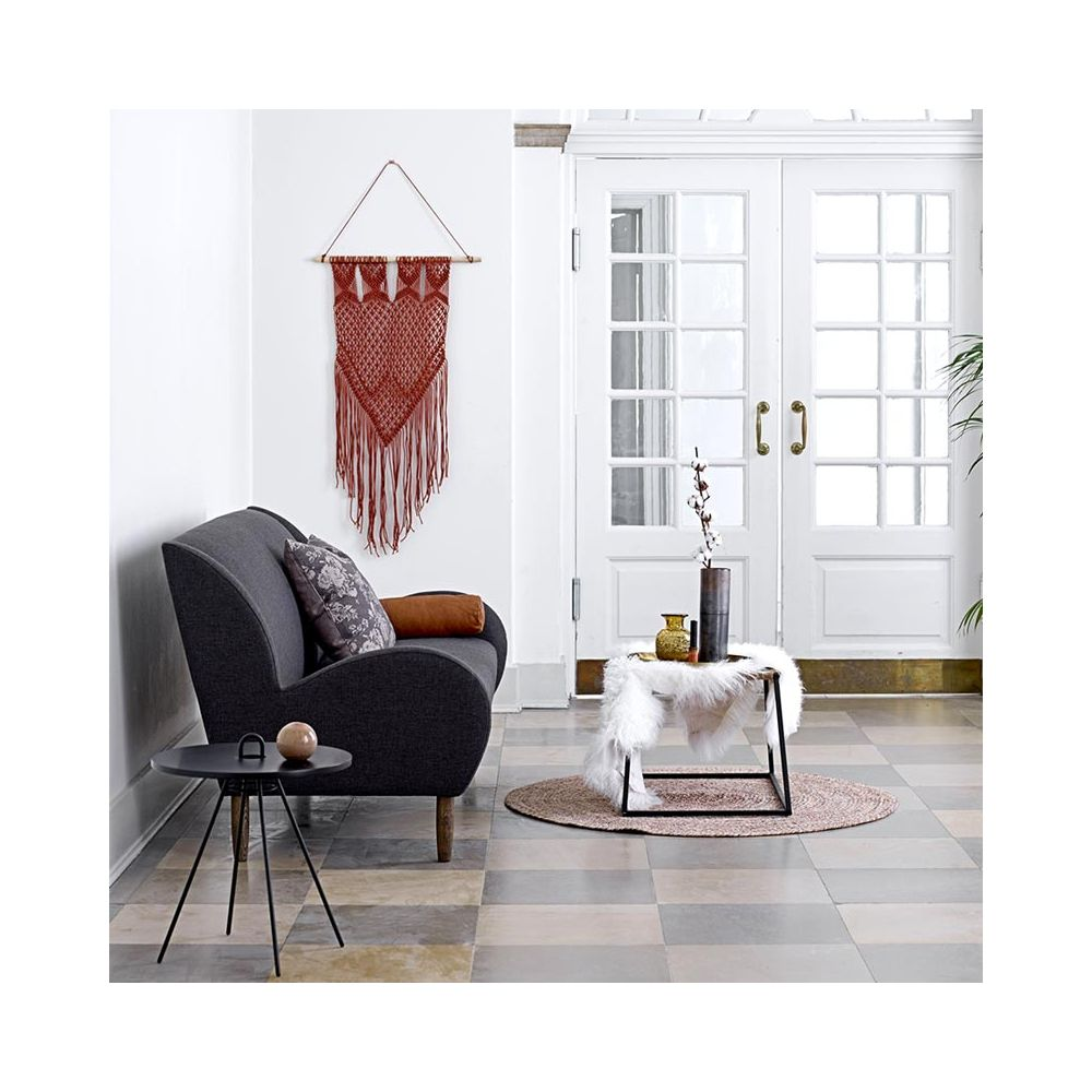tapis rond en jonc de mer tapis bloomingville rond. Black Bedroom Furniture Sets. Home Design Ideas
