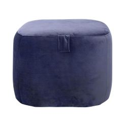 grand pouf rond suede design broste copenhagen. Black Bedroom Furniture Sets. Home Design Ideas