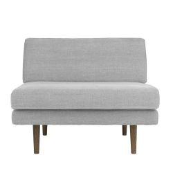 Scandinavian grey armchair