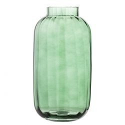 Glass vase Evergreen Bloomingville