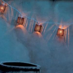 Le mariage champ tre la nouvelle tendance 2011 for Guirlande lumineuse pour exterieur