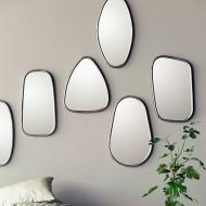 Miroir design miroir mural et miroir  poser pour salon entrée ou