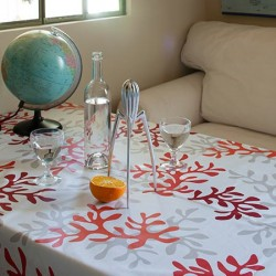 Coated tablecloths