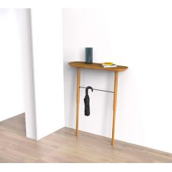 Wodd console table