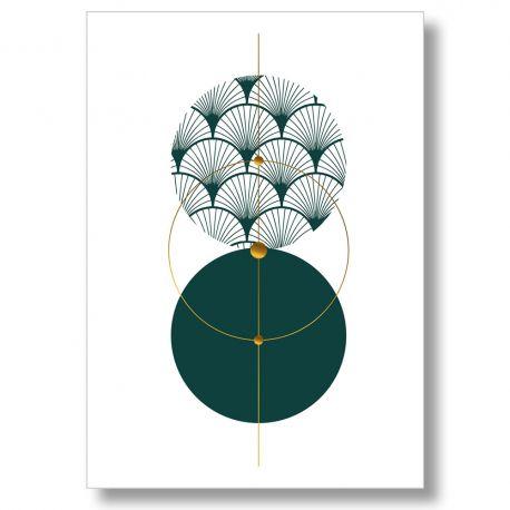 Deco design poster