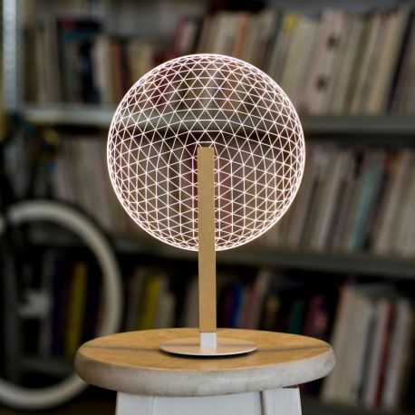 Lampe led illusion 3D