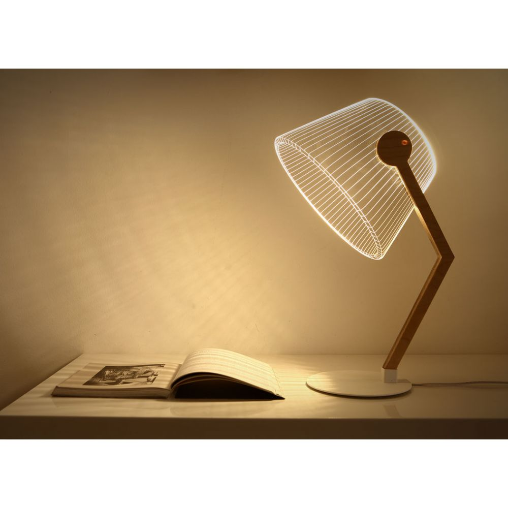 Ziggi Bulbing Lamp Led Lamp 3d Optical Illusion
