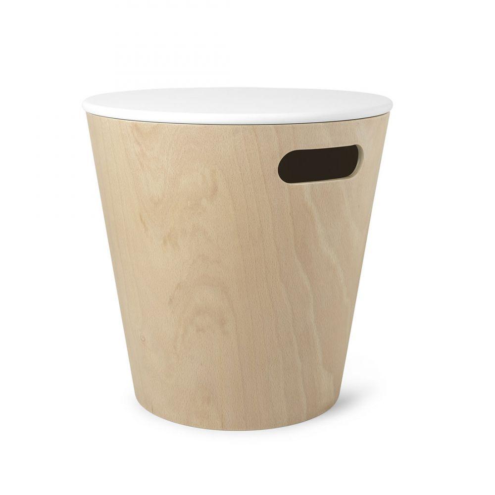 Tabouret Et Coffre De Rangement Scandinave Woodrow Design Umbra