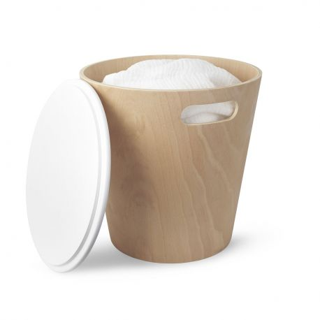 Storage stool for bathroom