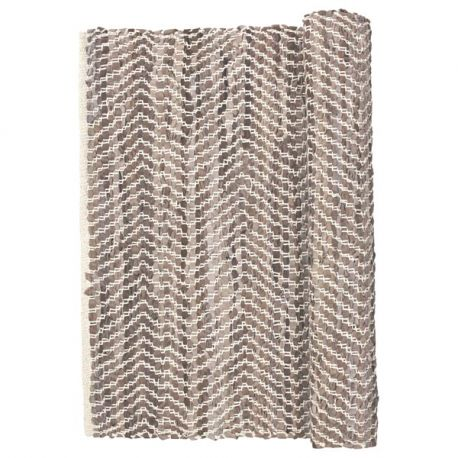 Broste copenhagen beige zigzag rug