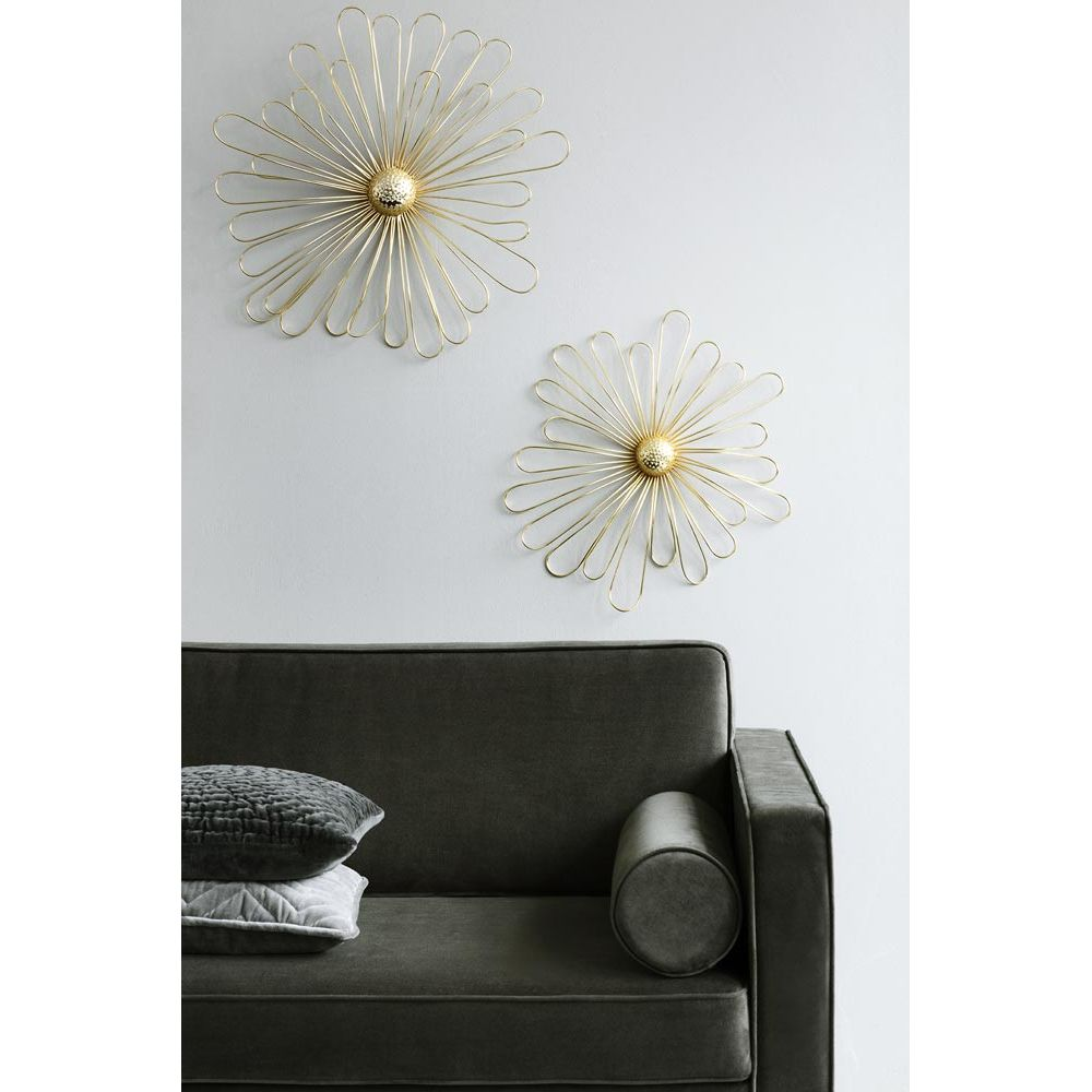 Design Metal Flower Wall Decor By Broste Copenhagen