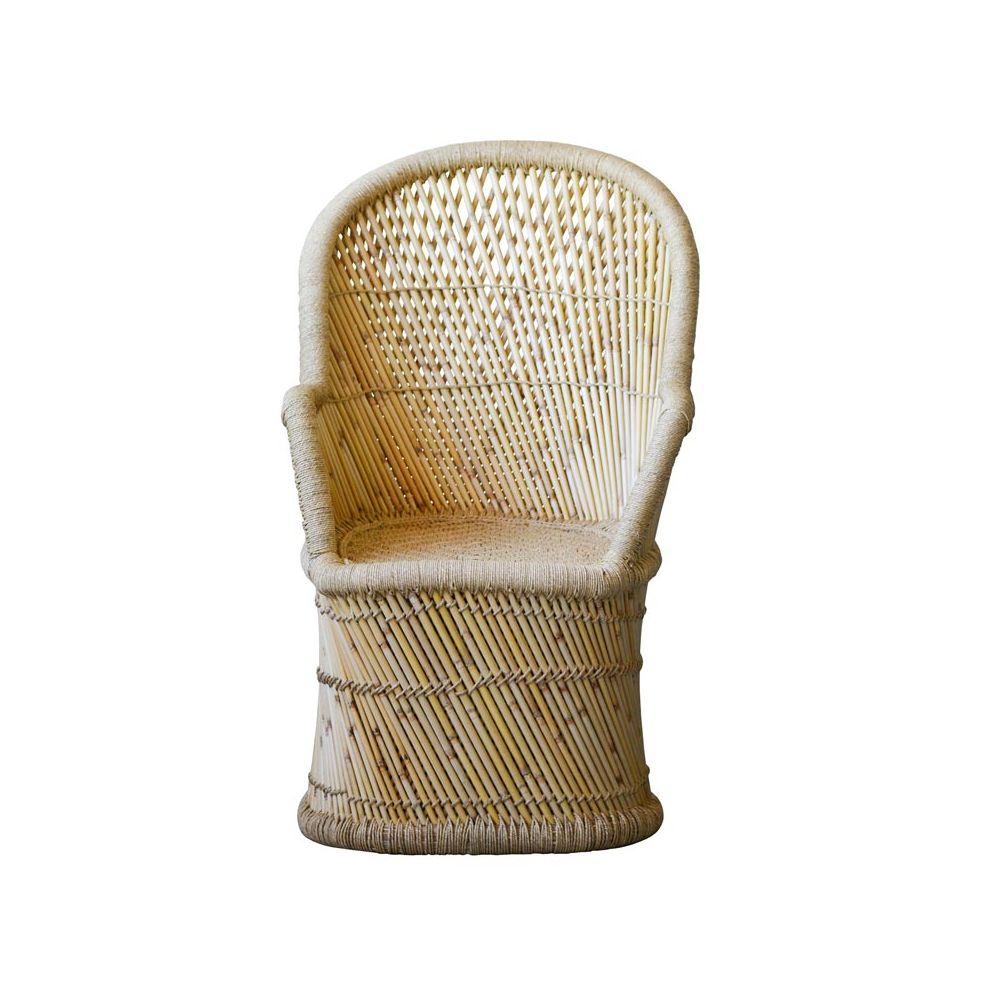 Bloomingville Bamboo Chair Emma Scandinavian Armchair