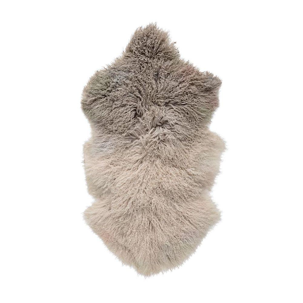 peau de mouton naturelle beige tapis - Tapis Peau De Mouton