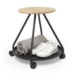 Table d'appoint avec roulettes