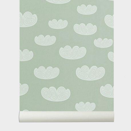 Cloud kid wallpaper