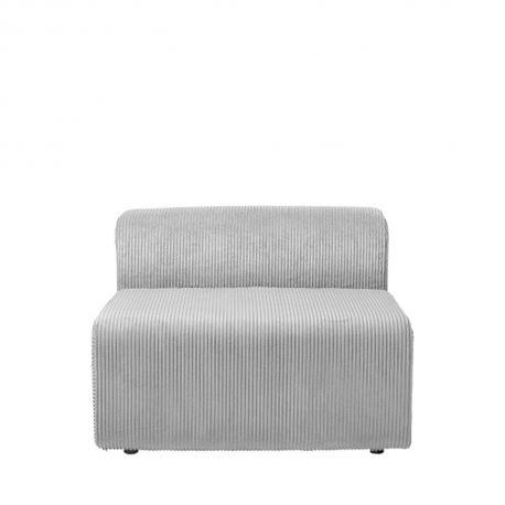 Light grey fireside chair 1 place