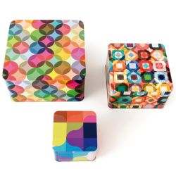 Fiesta 3 metal storage boxes