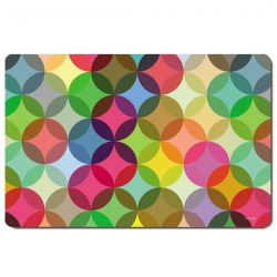 4 Plastic Placemats Fiesta Remember