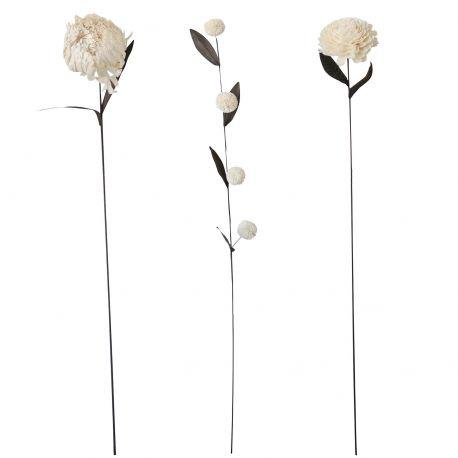Très grandes fleurs artificielles deco