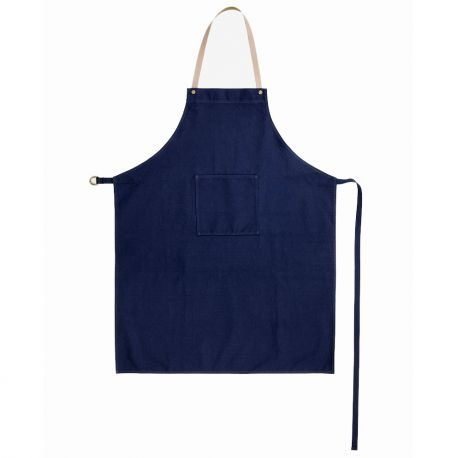 Ferm Living blue navy apron