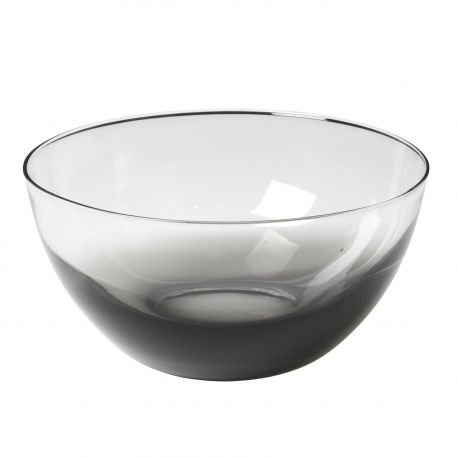 Large smoke glass bowl Broste Copenhagen
