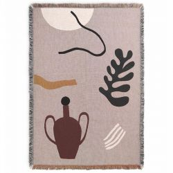 Mirage Grey Blanket Ferm Living
