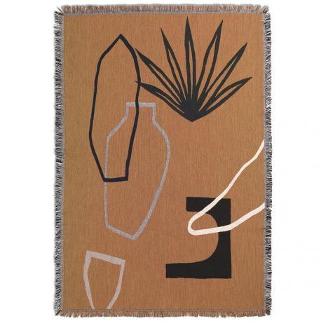 Ferm Living design blanket Mirage