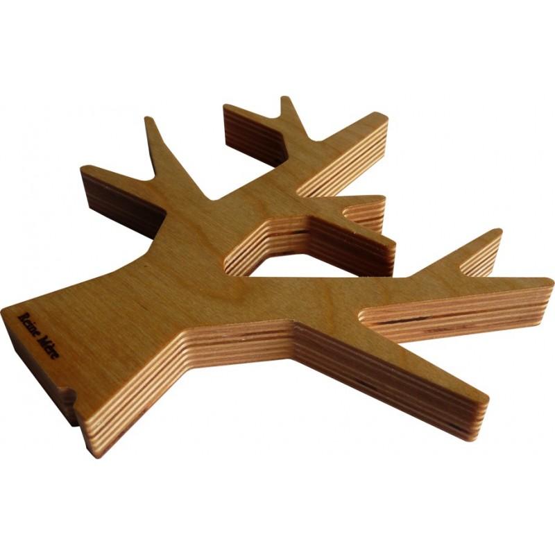 Dessous de plat Arbre en bois crée par Reine Mère