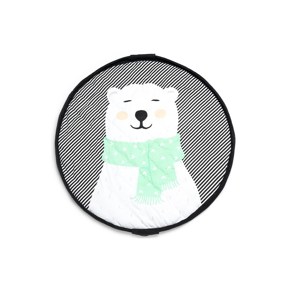Sac De Jeu Nomade sac tapis de jeu bébé ours polaire play and go