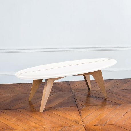 Table planche de surf Bolge design