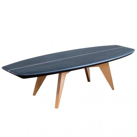 Bolge 59 black surfboard coffee table