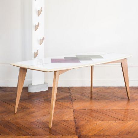 Table haute design surf Bolge 79