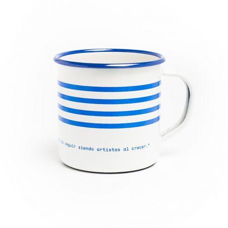 Original mug with Picasso quotation