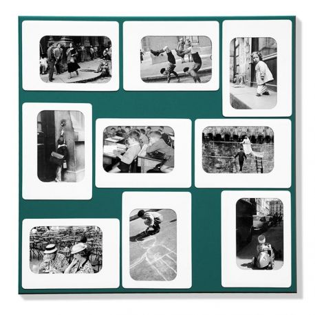 Original green photo frame